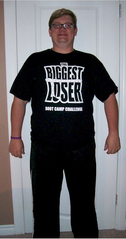 Our Winner for The Biggest Loser Boot Camp Challenge Round #1 Blaine Meller Lost  45.8 lbs on the scale and 39.8 lbs of Fat